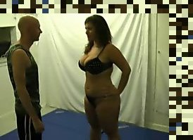 bbw mixed wrestling